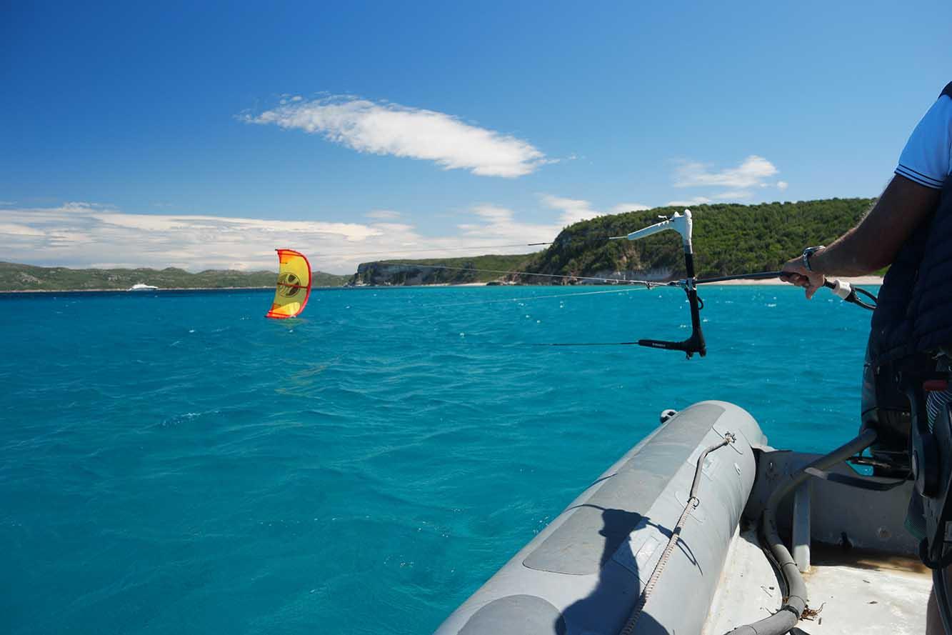 Apprendre le kitesurf à Bonifacio