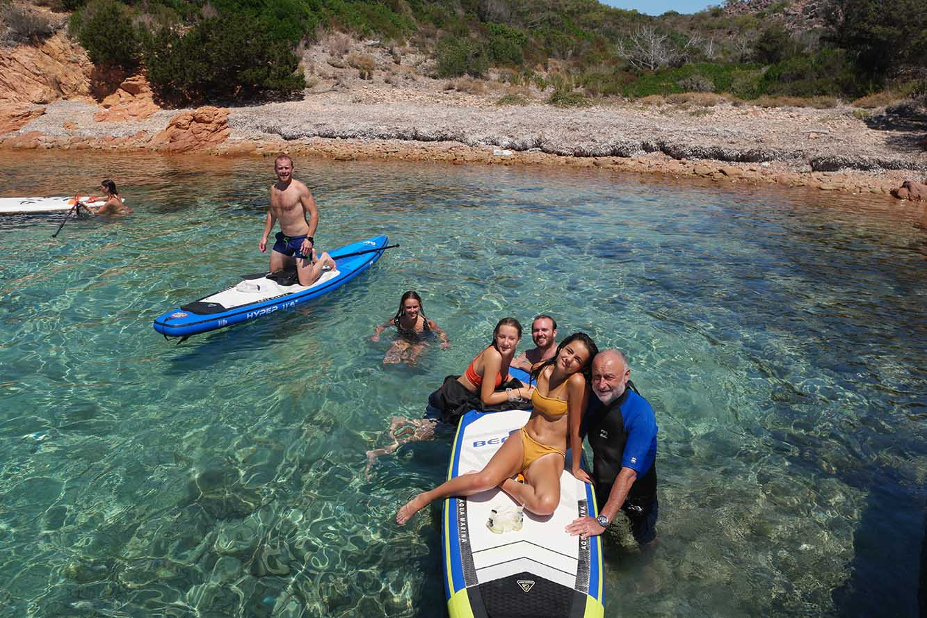 Excursions paddle à Balistra